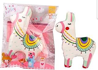 Kawaii Colorful Llama Slow Rising Squishy Decompression Toy