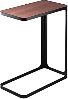 YAMAZAKI home Compact Tower Side Table, Black