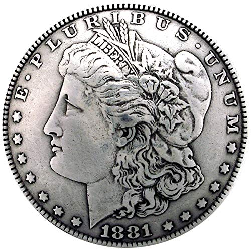 "Price comparison product image Concho 1-3 / 8"" Antique Silver 1 / Pkg-Morgan Dollar Heads (BC1932-01)"