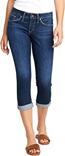 Women's Suki Curvy Fit Mid Rise Capri Jeans