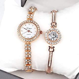 Women Watch Crystal Rhinestone Diamond Watches Ladies Dress Stainless Steel Wristwatch