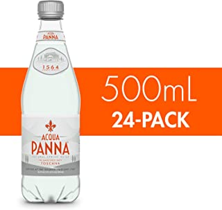 Acqua Panna Natural Spring Water, 16.9-Ounce (24 Pack)