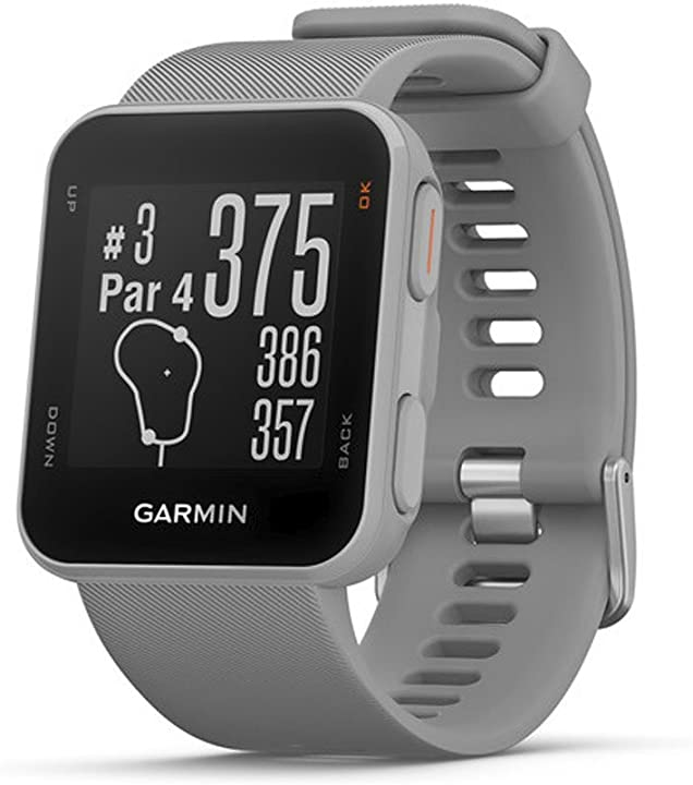 Garmin approach s10 010-02028-01 – leggero gps golf watch, grey