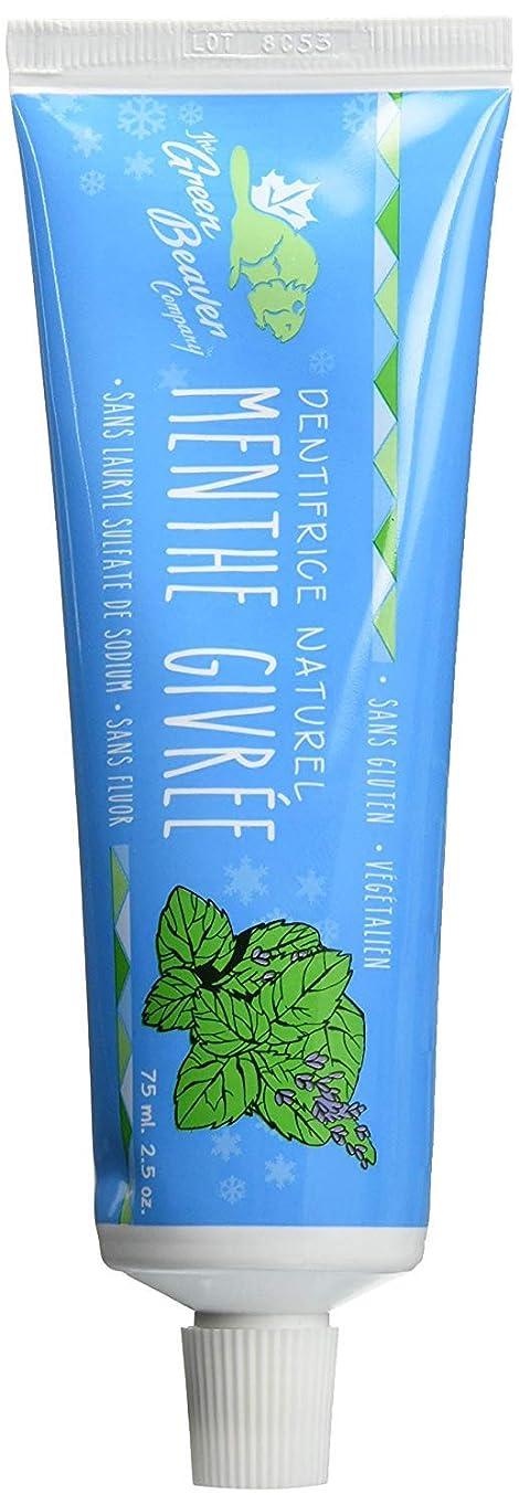 論理的に重量トマトGreen Beaver Toothpaste, Frosty Mint, 2.5 Ounce by Green Beaver