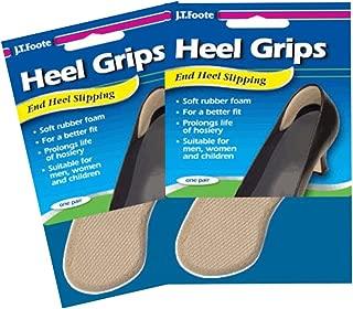 J.T.Foote End Heel Slipping HEEL GRIPS, Set of 2 Packs
