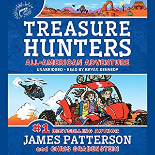 Page de couverture de Treasure Hunters: All-American Adventure