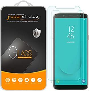 (2 Pack) Supershieldz for Samsung Galaxy J6 (2018) Tempered Glass Screen Protector, Anti Scratch, Bubble Free