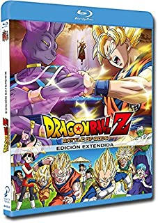 Dragon Ball Z Battle Of Gods. Edición Extendida. Blu-Ray