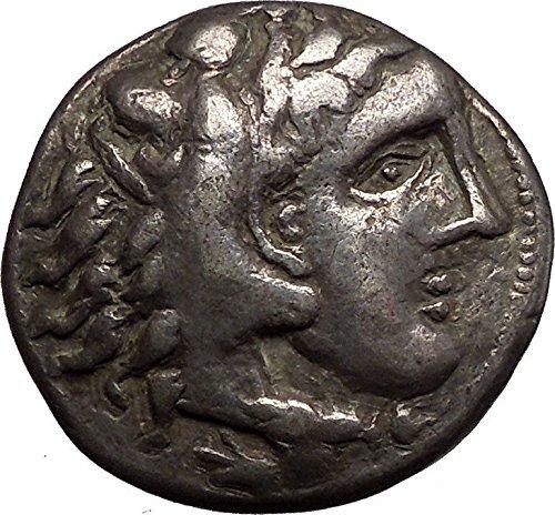 1000 GR Ancient Celtic AR Tetradrachm Coin as Greek King coin Good