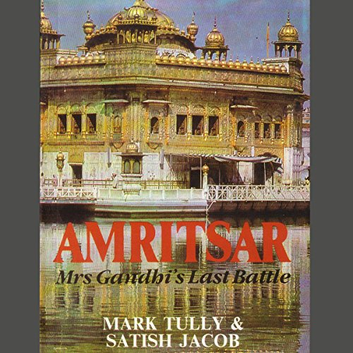 Amritsar audiobook cover art