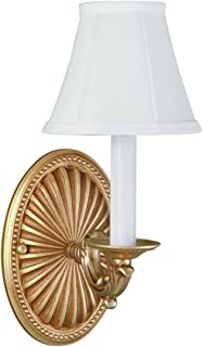 World Imports Lighting 6207-14 1-Light Wall Sconce, French Gold