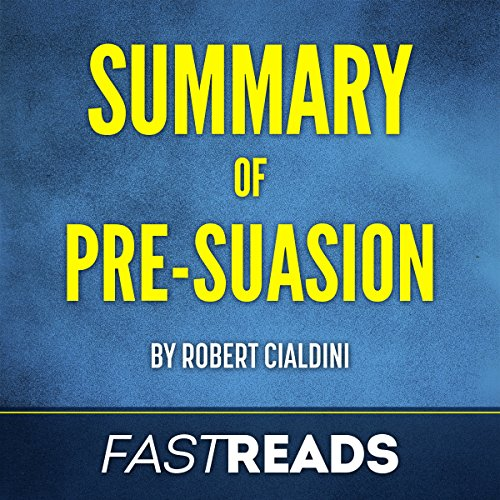 Page de couverture de Summary of Pre-Suasion: by Robert Cialdini
