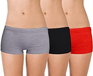 Selfcare Women's Cotton Boyshorts (Pack of 3)