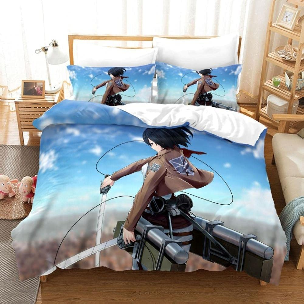 Limited time trial price Duvet Cover Full Trust Size Boy with Zipper Covers Bedding Closu