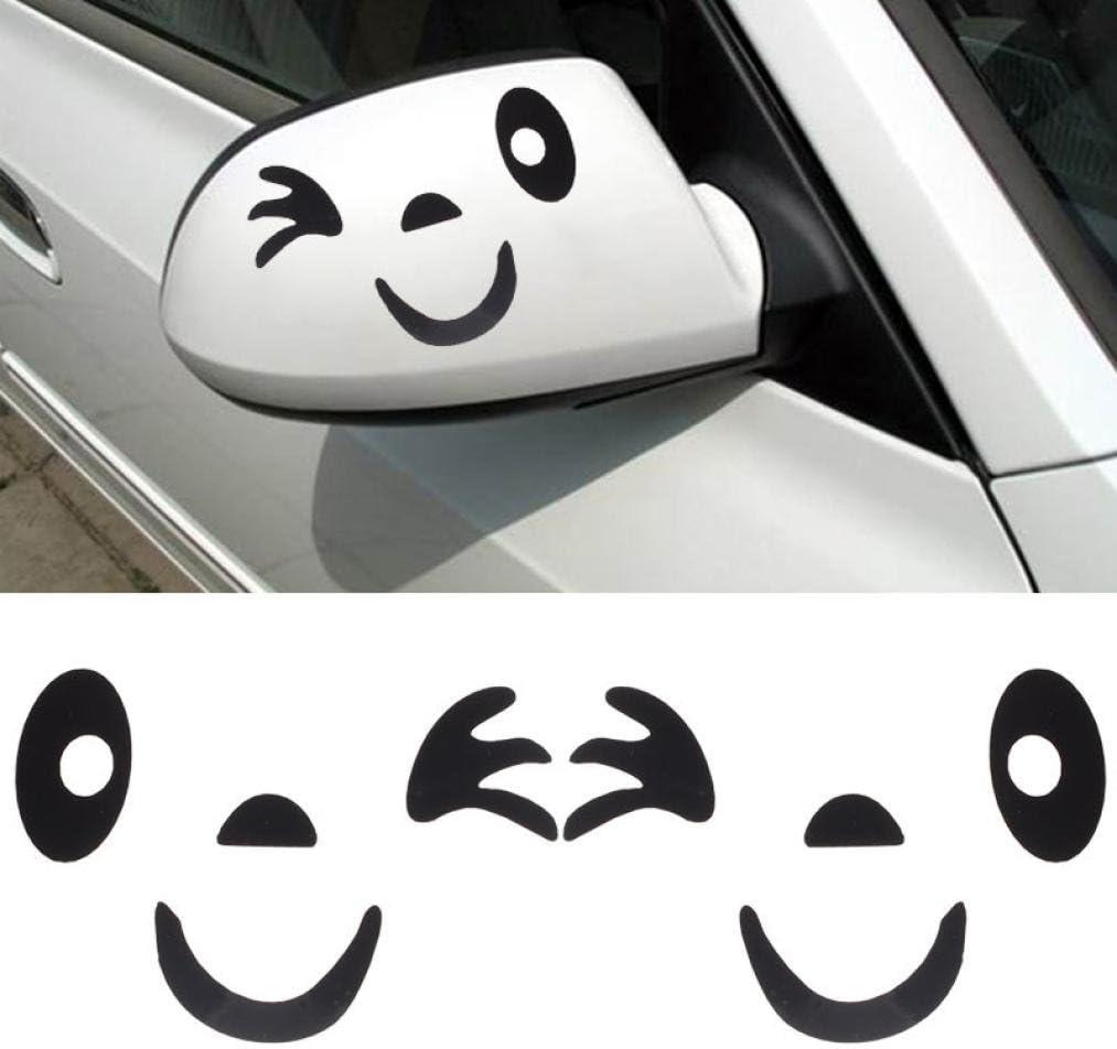 wholesale Store Quaant Car Sticker Fashion Heaven Smile Design 10.1cmx6.8cm Face