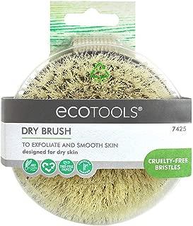 Ecotools Dry Body Brush Exfoliate & Detoxify / Cruelty-free Bristles & Bamboo.