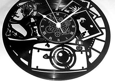 Instant Karma - Reloj de pared fabricado con un disco LP de ...