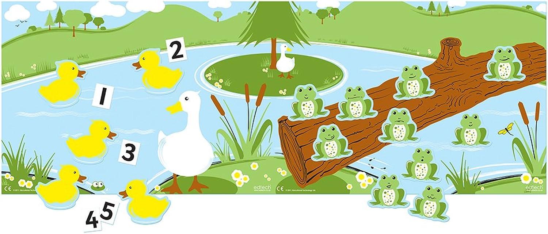 Inspirierende Klassenzimmer 8.011.421,6 cm cm cm Enten und Frösche Educational Spielzeug B01JINILL4  | Verkauf  d03127