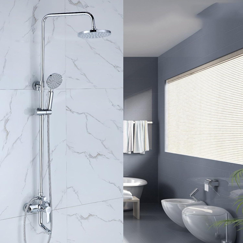 CF Shower set bathroom recessed shower faucet manual shower set multifunction shower