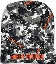 Harley-Davidson Baby Boys' Camo Infant Slouchy Beanie Hat, Black & Gray 7261903