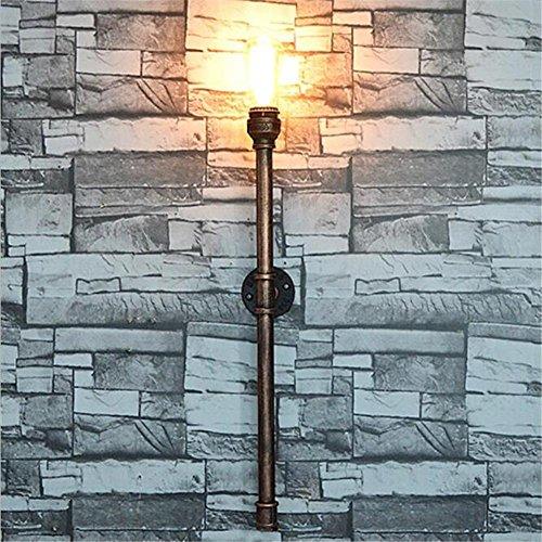 Atmko®Applique Murale Vintage Industriel Appliques Applique Applique Applique Chambre Couloir Couloir Bar Café Restaurant Escalier Peinture Fer Forgé Tuyaux d'eau Applique