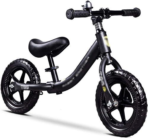 descuentos y mas WHTBOX WHTBOX WHTBOX Equilibrio De La Bici Bicicleta de Equilibrio De Entrenamiento,Deporte,Bebé,Base Oscilante,Ligero,Manillar Ajustable,Niño de 2 A 6 años,negro  marca de lujo