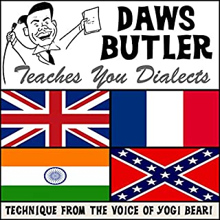 Daws Butler Teaches You Dialects cover art
