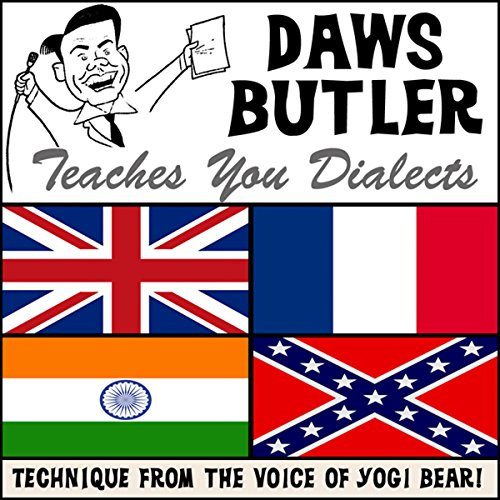 Daws Butler Teaches You Dialects audiobook cover art