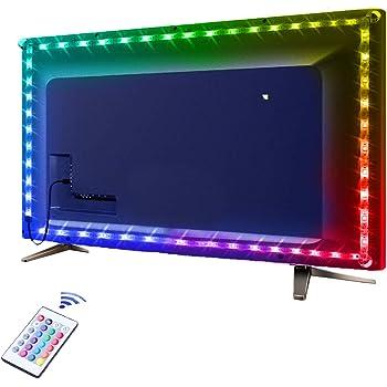 USB Lichtleiste Beleuchtung Fernseher 2M LED TV Hintergrundbeleuchtungs Set