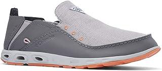 حذاء رجالي PFG Bahama Vent Loco III من Columbia بلون فحمي/برتقالي، مقاس 8 عرض US