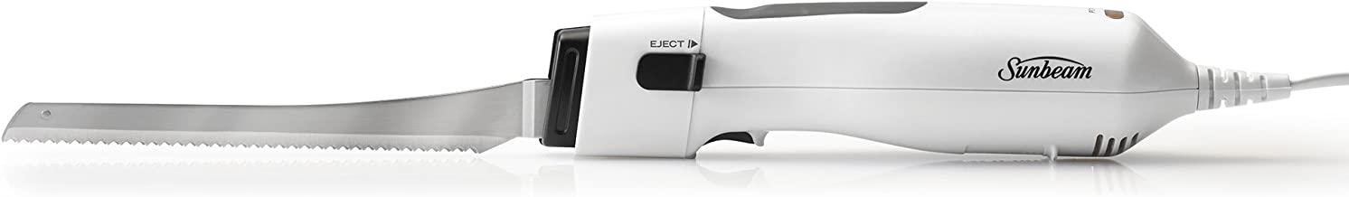Sunbeam Carveasy Classic Electric Knife, White