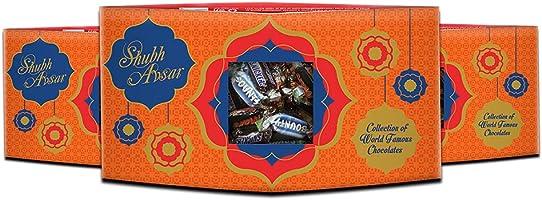 Shubh Avsar Premium Chocolates Assorted Gift Box, 450g (150g x 3 Pack)
