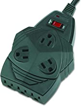 Fellowes Mighty 8 Surge Protector with 8-Outlets, 6 Foot Cord, 1300 Joules (99090)