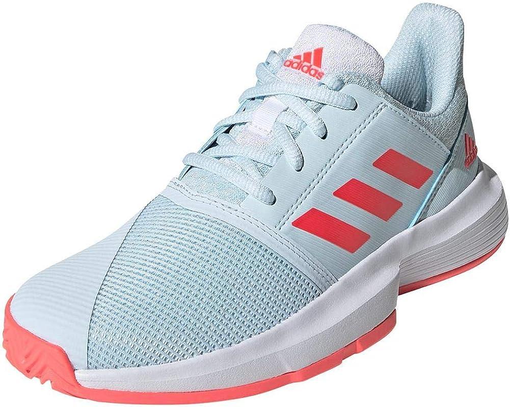   adidas Unisex-Child Courtjam X Tennis Shoe   Racquet Sports