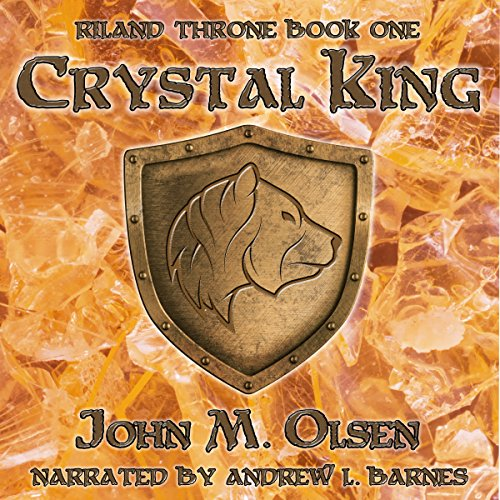 Crystal King audiobook cover art