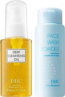 DHC Deep Cleansing Oil, 2.3 fl. oz. & Face Wash Powder, 1.7 oz.