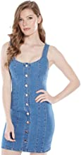 GUESS Factory Elora Denim Dress