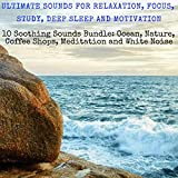Ultimate Sounds for Relaxation, Focus, Study, Deep Sleep, and Motivation: Ten Soothing Sounds Bundle: Ocean,...