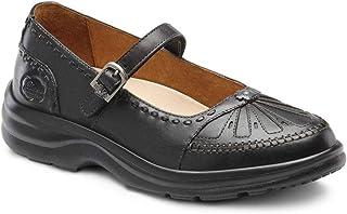 Dr. Comfort Women's Paradise Diabetic Mary Jane Shoes Black