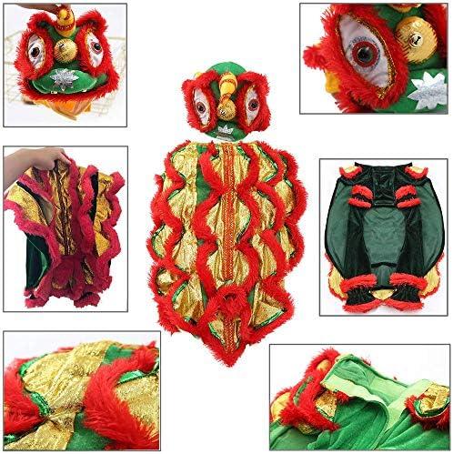 Chinese dragon dog costume _image2