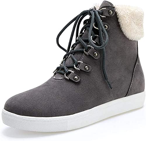 Bottes  Bottillons à Lacets   Chaussures Chaudes en Coton d'hiver  livraison rapide et livraison gratuite sur toutes les commandes