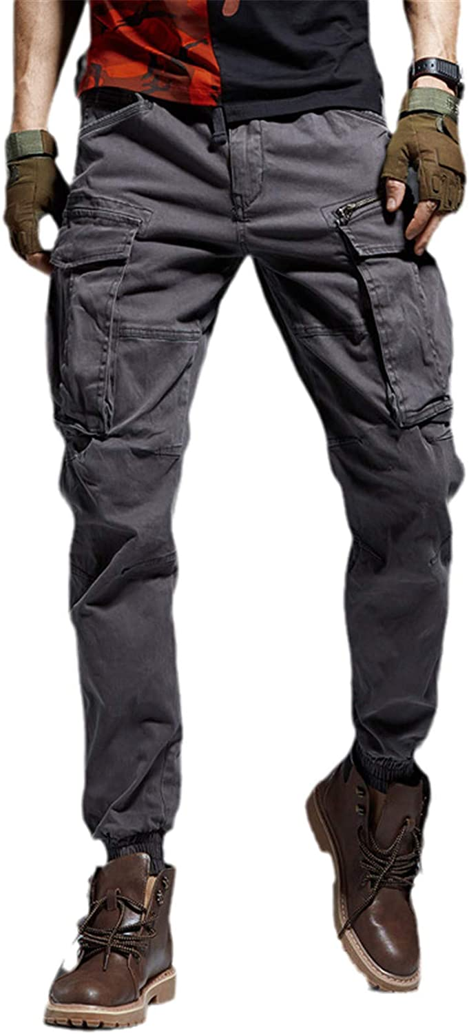 GUOYUXIAO Men's Joggers High quality Pants Cargo Pant Tactical Military Selling and selling