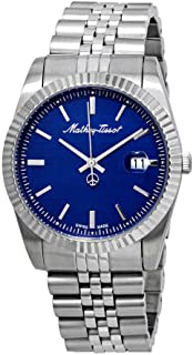Mathey-Tissot Rolly III Blue Dial Mens Watch H810ABU