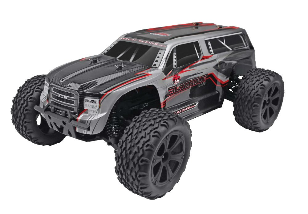 Blackout Scale Electric Monster Truck