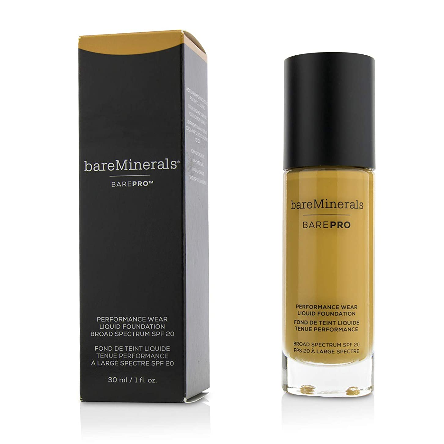 離れた支給ヒップベアミネラル BarePro Performance Wear Liquid Foundation SPF20 - # 21 Sable 30ml/1oz並行輸入品
