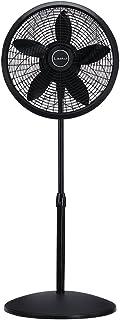 Lasko 1827 18″ Elegance & Performance Adjustable Pedestal Fan, Black –..