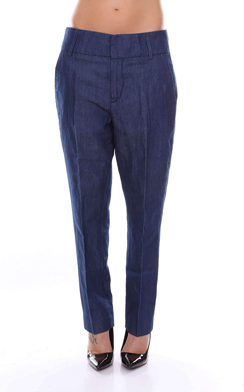 Dondup Women's DP289DF167DV002blueE bluee Cotton Pants