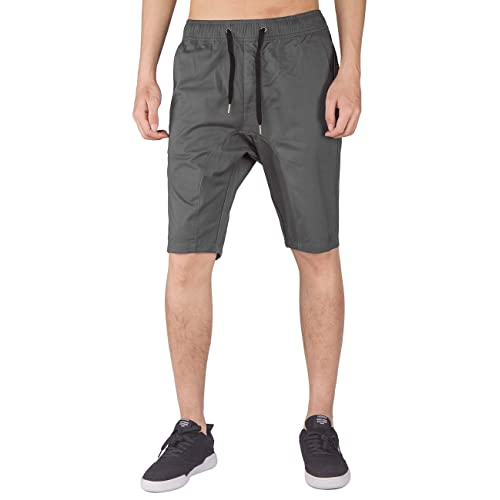 ITALY MORN Men s Shorts Classic Fit Stretch Casual Elastic Waist with  Drawstring f69f5445a22