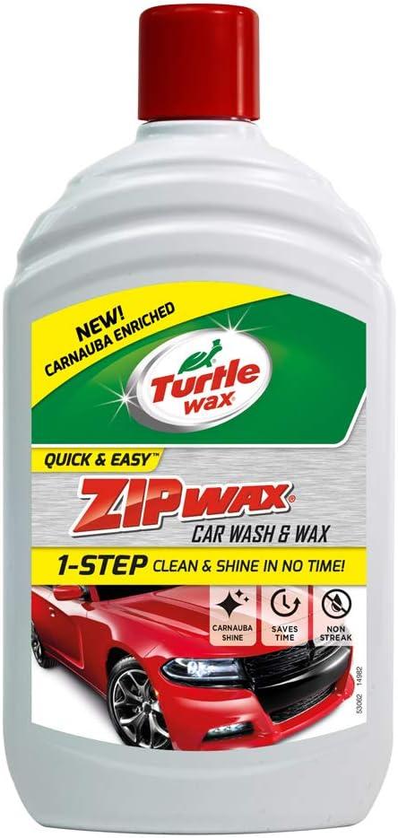 Turtle Wax 52822 Zip Wax Zip Wachs Super Konzentriertes Waschmittel Für Wäsche 500ml Auto