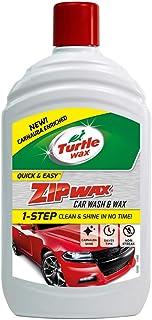 Turtle Wax 52822 Zip Wax Super Concentrated Car Wash Shampoo & Wax 500ML